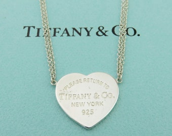 Tiffany And Co Necklace Etsy