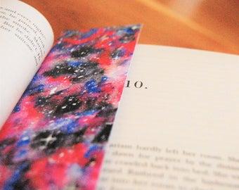 BOOKMARK - Galaxy, Original Watercolour Print