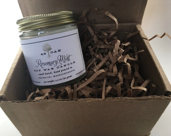 Candle of the Month Subscription-4oz soy wax candle, phthalate-free oil. Mother's Day Gift, Birthday Gift, Housewarming Gift, Christmas Gift