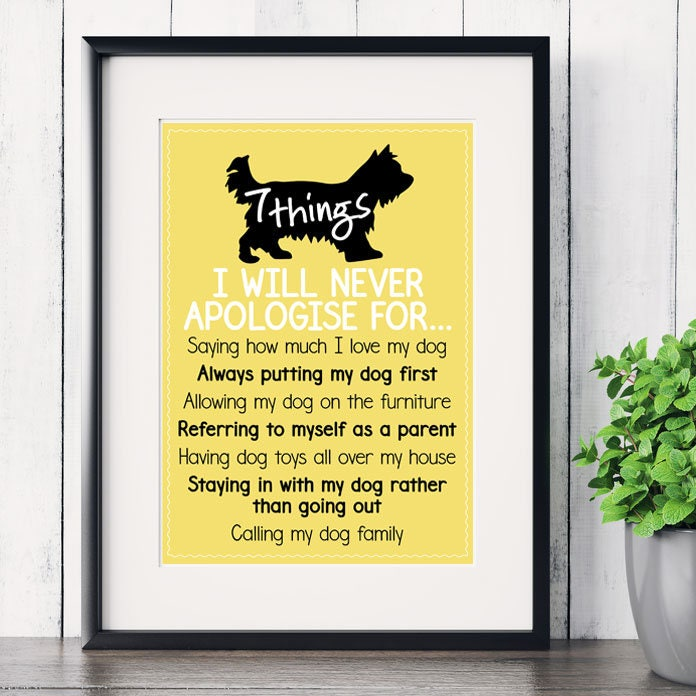 141db3ed691d Personalised Fathers Day print 7 things I will never | Etsy