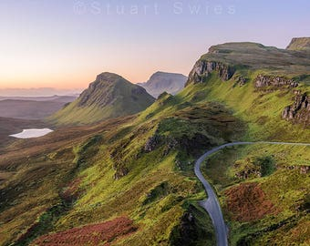 Landscape Photography, Digital Download, Instant Download, Downloadable Prints For Sale, The Quiraing, Isle Of Skye, Scotland