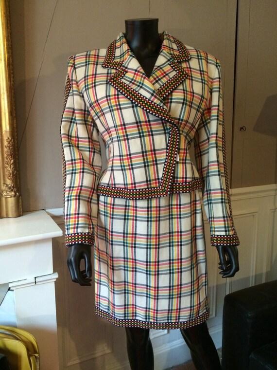 HERMES - Plaid jacket