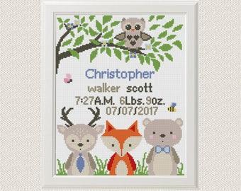 Animals Cross Stitch