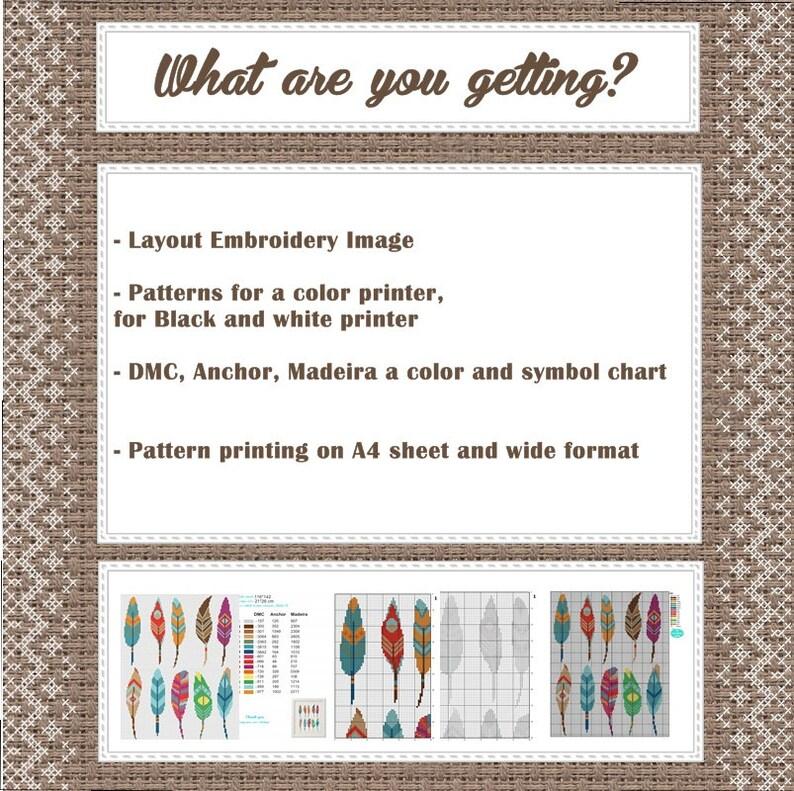 Geometric cross pattern Heart cross stitch pattern Colorful heart Modern Cross Stitch pattern pdf Instant download chart