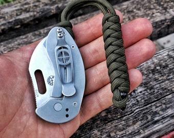 Paracord Lanyard - EDC para cord keychain survival