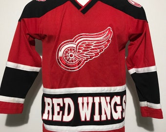 Vintage Detroit Red Wings Jersey Ladies S 78f670a90ba