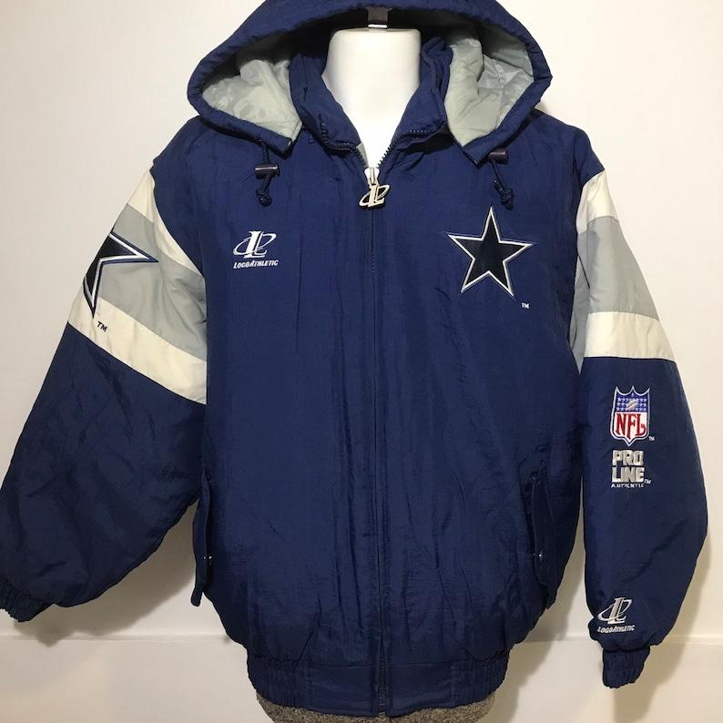 super cute 5c737 b6795 Vintage Dallas Cowboys Winter Jacket L
