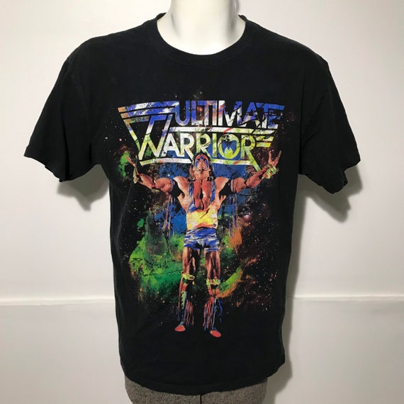 Vintage Ultimate Warrior Wrestling WWF Tee M