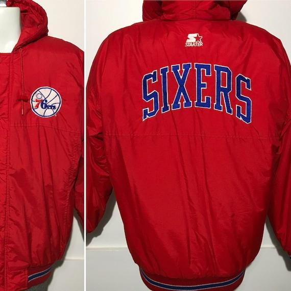 Vintage Sixers Philadelphia 76ers Starter Jacket L KkzroHxX