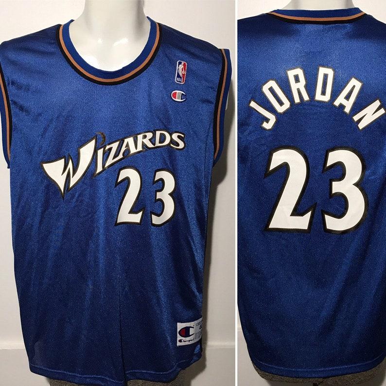 quality design 1a574 58934 Vintage Michael Jordan Wizards Jersey M