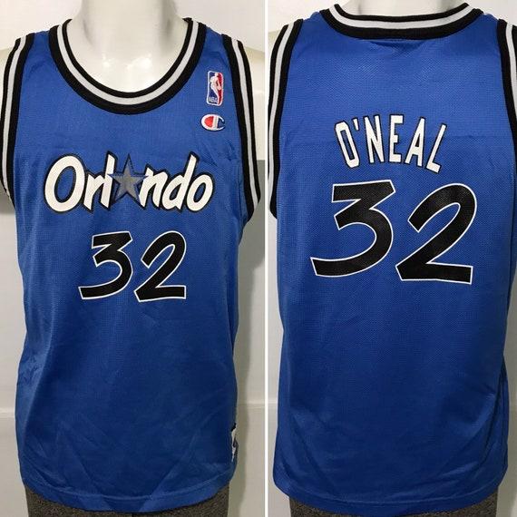 Vintage Shaq Shaquille O'Neal Orlando Magic Champi