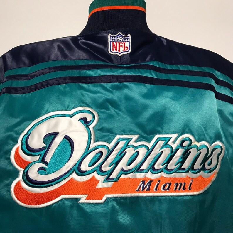 Vintage Miami Dolphins Starter Bomber Jacket M