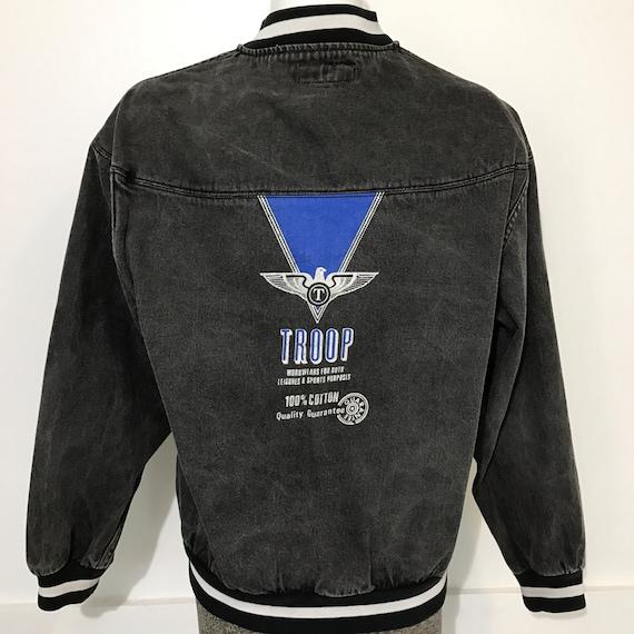 Vintage Troop Brand Jean Jacket M/L