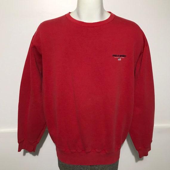 Vintage Polo Sport Sweatshirt L - image 1