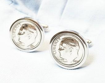 65th Birthday Anniversary Penny Cufflinks 1954 1955 1953 Anniversary For Him Penny Cuff links Coin Cufflinks Present