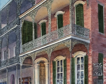 Royal Street, historic home, New Orleans, French Quarter