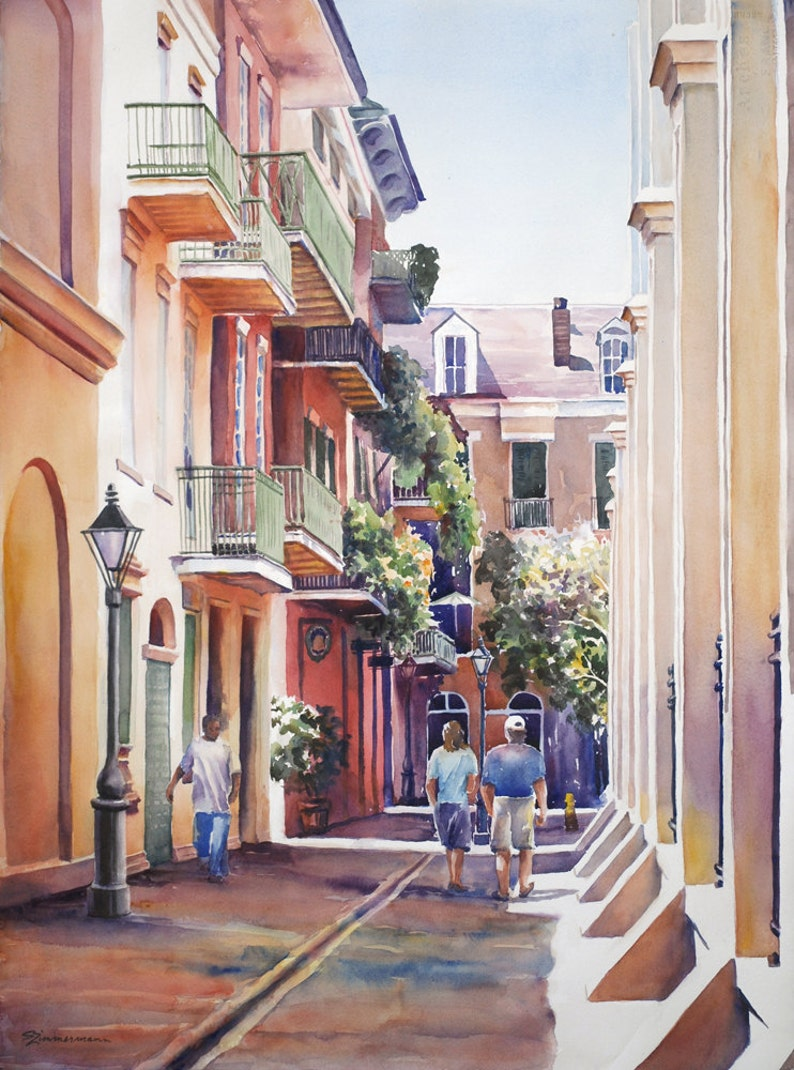 French Quarter New Orleans Pirates Alley historic image 0