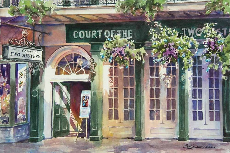 Court of Court of Two Sisters historic architecture New image 0