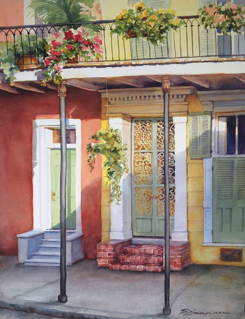 French Quarter New Orleans historic architecture creole image 0