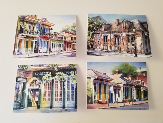 Notecards of New Orleans scenes