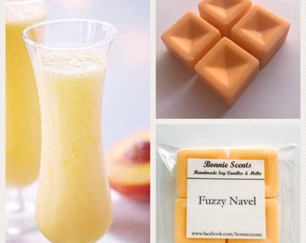 Fuzzy Navel. Soy Wax Melts. Home Fragrance.