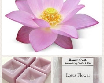 Lotus Flower. Soy Wax Melts. Home Fragrance. Floral.