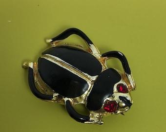 Unique vintage Bug Brooch