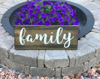 Family Sign, Family Wood Sign, Family, Family Sign Home Decor, Family Wedding Sign, Family Room Decor, Wood Family Sign, Gift Idea, Wall