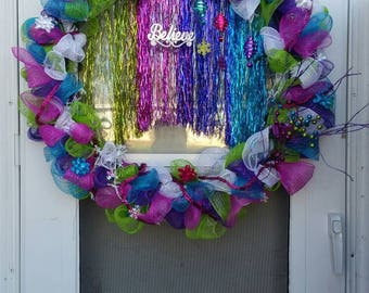 Huge 30 inch wreath holidays and more