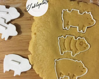 We bare bear - cookie cutters