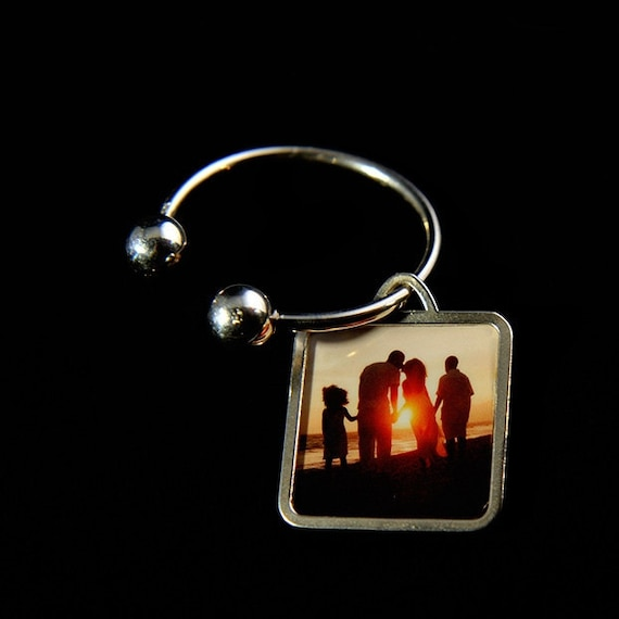 Love Photo Key Ring