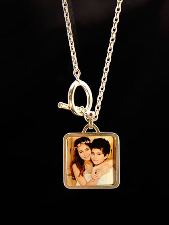 Love Photo Locket With Sterling Silver Chain