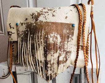 a897c89c8750 Leather Crossbody Purse-Fringe bag-stagecoach festival style