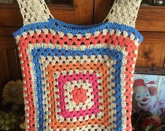 Cotton crocheted vest