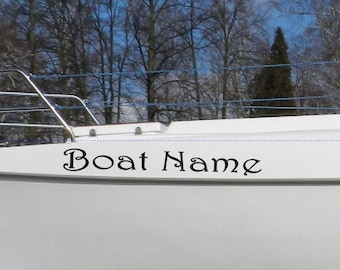 Boat decals | Etsy