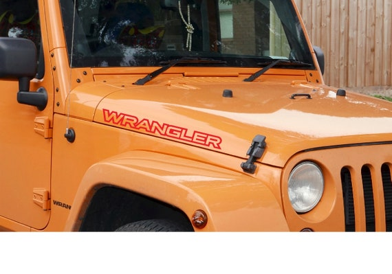 "2 x 10/"" Jeep Mountain Wrangler Decal set stickers fender TJ JK CJ YJ rubicon"