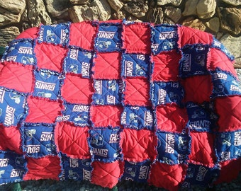 New York Giants Blanket 5'5x 5'5 size