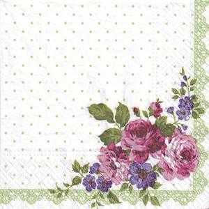 Mary Maxim Needlepoint Kit #23322 Blue Flowers Table Runner 15 x 45 Floss Included NIP NEW