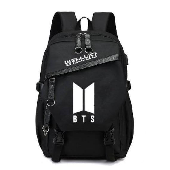 Henjoy Bts Korean Kpop Idol Bang Tan Boys Backpack Etsy