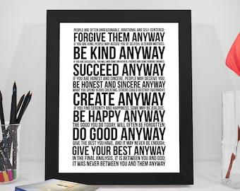 Do It Anyway Etsy
