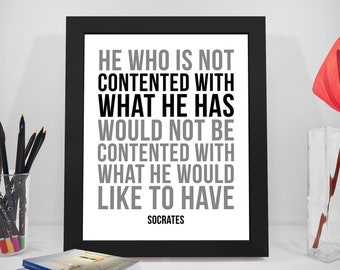 Sokrates Zitat Etsy