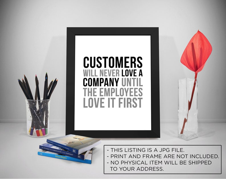 Employee customer service quotes