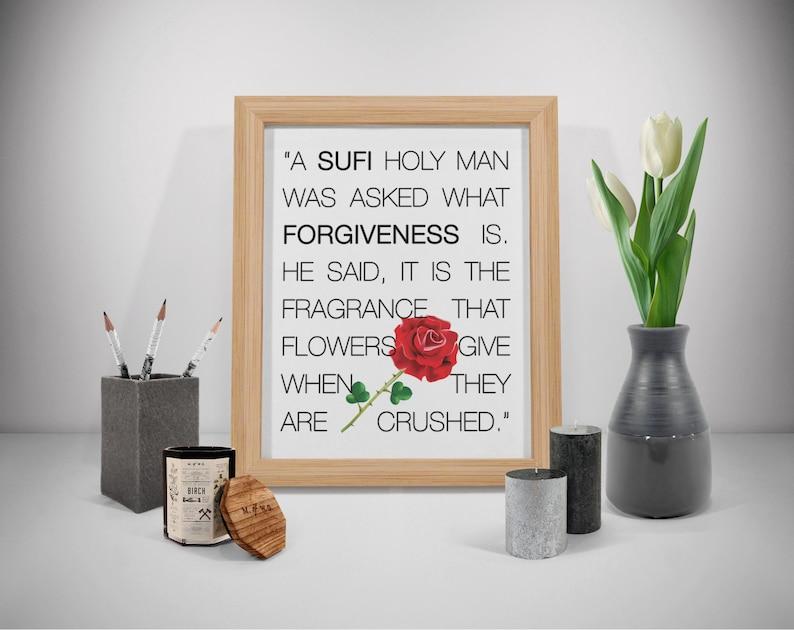 Filosofische Citaten Over Geluk : Vergeving citaten soefi kunst soefi wall art wijsheid etsy