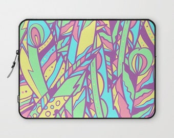 PASTEL-FEATHER  -Laptop Sleeve