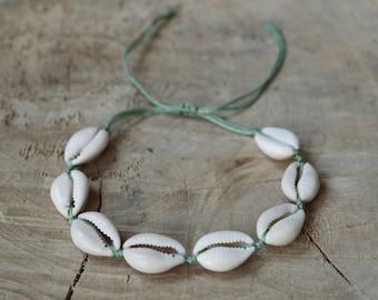 Cowry Shell Bracelet | Sea Shell Bracelet | Natural Shell Bracelet | Cowry Kauri Shell | Ibiza Bracelet | Cowrie Shell Bracelet