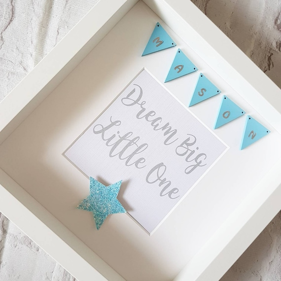 Personalised \'Dream Big Little One\' Frame Gifts for | Etsy