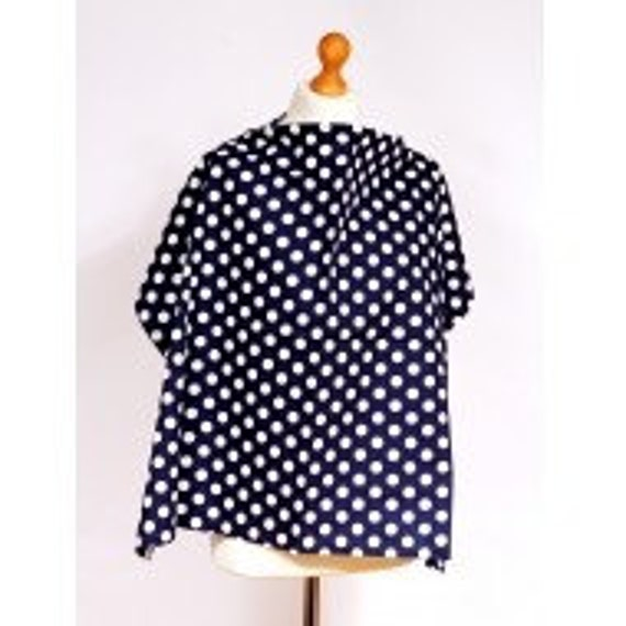 Palm /& Pond 100/% Cotton Grey Floral Design Breastfeeding Nursing Cover Apron