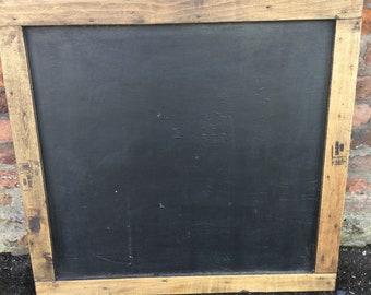 Rectangle  Rustic Vintage Chalkboard - 40cm x 80cm