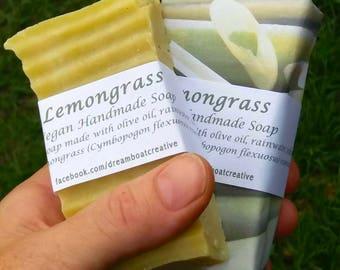 Vegan olive oil soap - Lemongrass