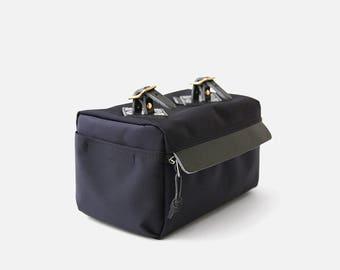 HGE Bicycle saddle bag(black), Brompton bag, Seat Bag, Handmade in Seoul, Korea